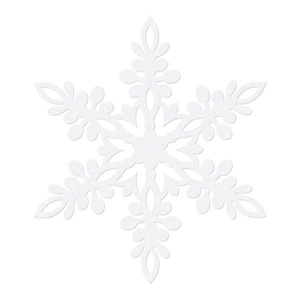 Snefnug Ophæng Stjerne 10 stk.