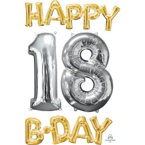 Fødselsdagskort 18 års Tekst til