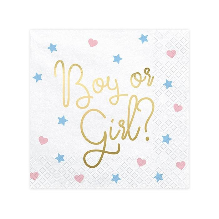 Boy or Girl, servietter