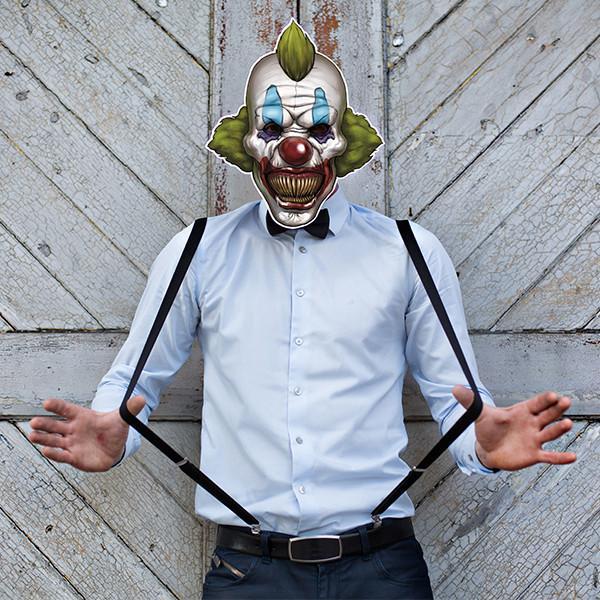 Scary klovne maske