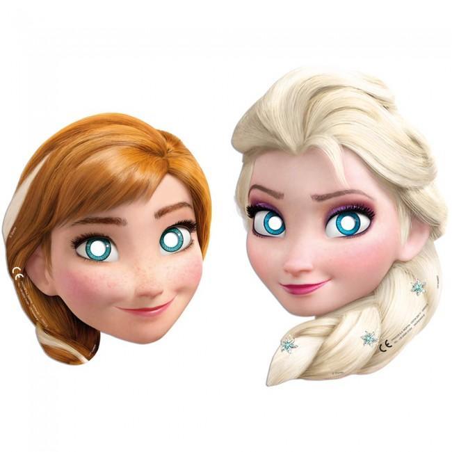 Frost masker med Anna og Elsa