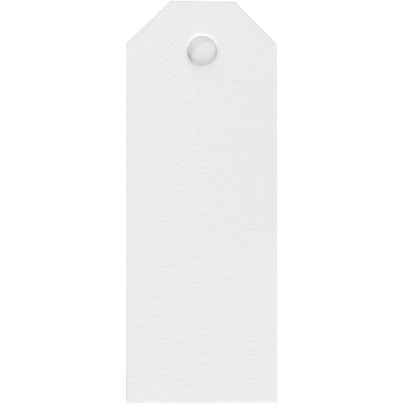 Manillamærke Hvid 20 stk.