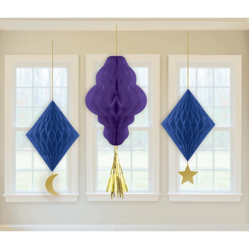 Eid Dekoration 3 Honeycombs
