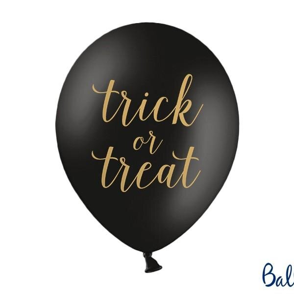 Halloween balloner, Trick or Treat