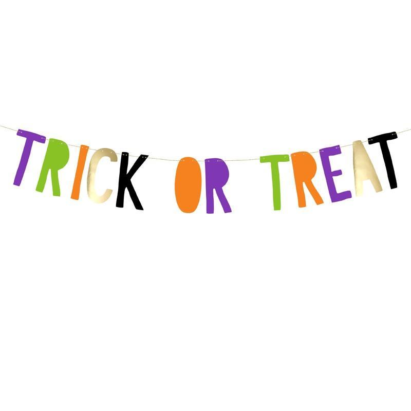 Halloween banner, Trick or Treat